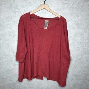 Free People Over Sized Open Blouse